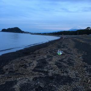沼津 島郷海岸釣行