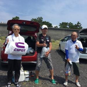 吉原サーフ 富士入道海岸 8月定例会結果