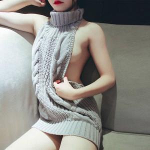 【セーター】【de】【ぽっかぽか】ニットのセーター着た女の子って魅力的だよねって云うても例のアレはもはやセーターではないとかいう件