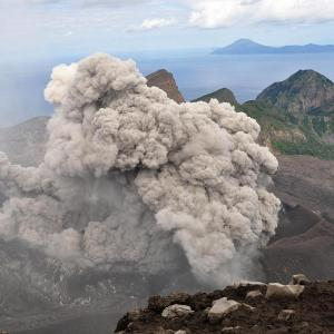 【トカラ列島】【de】【速報】諏訪之瀬島で噴火が発生