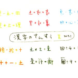 漢字のさんすう