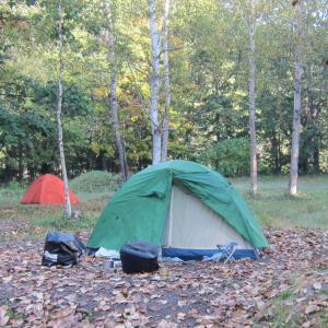 キャンプ道具:ダンロップ・テント R224