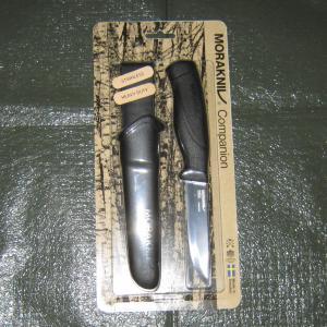 キャンプ道具:モーラナイフ Companion HeavyDuty STAINLESS