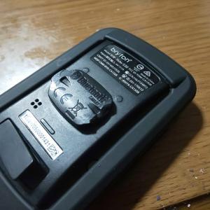 サイコンのツメ折れ補修とヤフオクにクランク出品