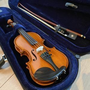 2人でバイオリンを始めました