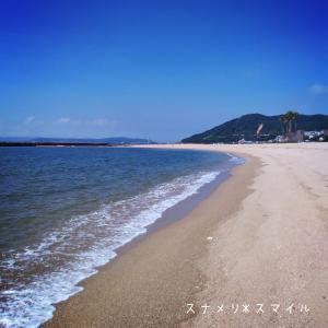 須磨・神戸旅①おむすびちゃん初めての海と須磨海浜水族園