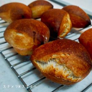 ひさびさのパン作り