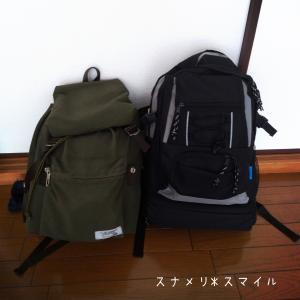 2019秋*【1次の備え】非常時持ち出し袋は二段構え