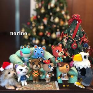 ■羊毛フェルトポケ森のクリスマス■