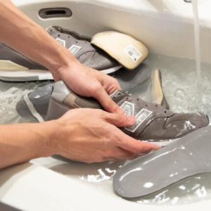 中古で買ったニューバランスを洗ってみた【スウェード靴の丸洗い】