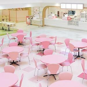 子連れピューロランドに安心のレストラン♪~キャラクターフードコート