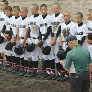 【野球】中体連は中止となりましたがまだ上位大会があります。