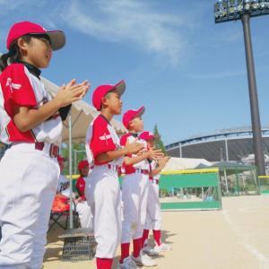 男子はこちら。第33回全日本小学生男子ソフトボール大会。