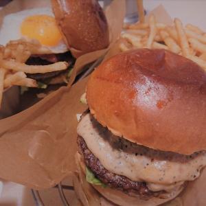 【福岡 ハンバーガー】J.S.BURGERS CAFE/サラダバー付き