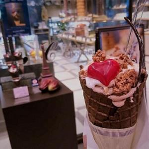 【福岡 ソフトクリーム】チョコレート店のソフトクリーム・ジェラート