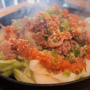 【福岡 ニューオープン】豚盛鉄板 / カレーもおいしい