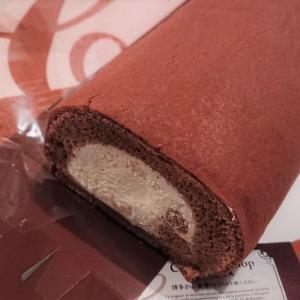 【福岡 ロールケーキ】チョコレートショップのロールケーキ/行列店