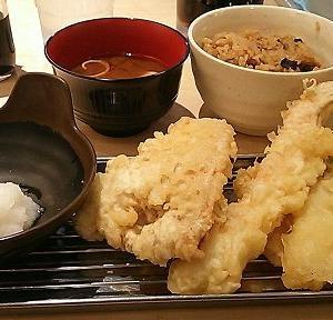 【福岡 天ぷら】天ぷら定食あげな ヨドバシ博多店