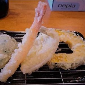 【福岡 天ぷら】天ぷら わた辺 で天ぷら定食が680円