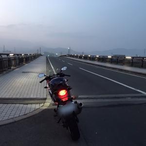早朝ツーリング(熊野〜龍神)