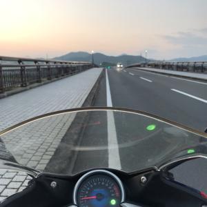 日帰りツーリング(龍神→白浜→十津川)