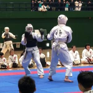 2020日本拳法白虎会大会(中学1年生男子) 徳大式グローブ&胴使用優勝記念PV