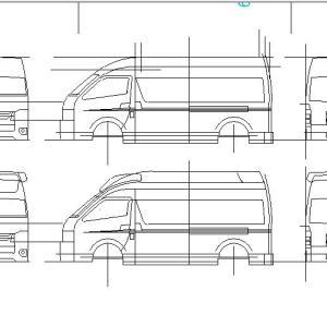 CAD製図シリーズ 救急車