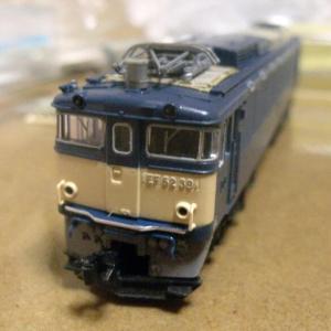 TOMIX EF62の再塗装