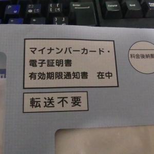 【日記】検査とマイナンバーカード