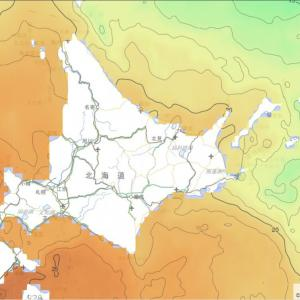 【日記】オホーツク海面水温低下