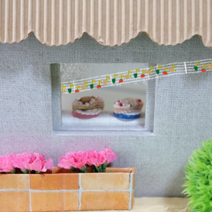 ネコちゃん達の おさかなケーキ☆