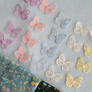 綺麗な蝶のモチーフ見つけました♪
