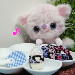 浴衣っコ♪の小物作り(*^^*)