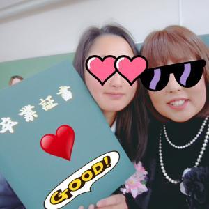 卒業式❀.*・゚✿゜:。*