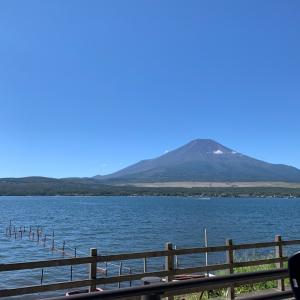 丸ちゃん連れ■山中湖♪