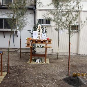 台東区西浅草木造4階建耐火建築物ホテルプロジェクト 地鎮祭