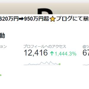 【twitter】2019/07/07 Twitter解析(フォロワー数3,565➡3,929人/+364人)