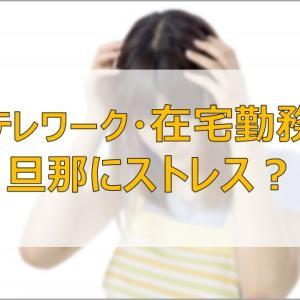 旦那のテレワークでストレスが溜まる主婦?|働き方改革は家庭の痛みを伴う