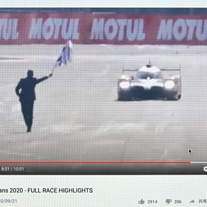 日本のTOYOTAがル・マン24時間レースを3連覇