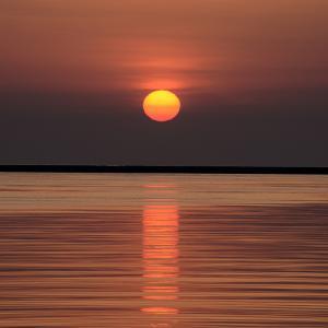 今日も小樽に陽が昇る