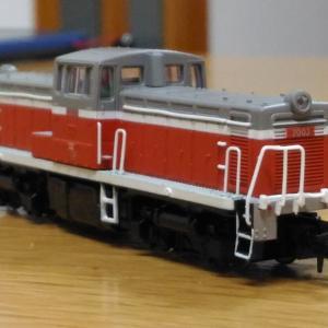 マイクロエース・DD13(旧国鉄色) (1)