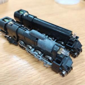 マイクロエース・D51498のニコイチ再生(2)