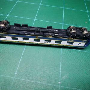 続・欧風客車のカプラー交換(1)