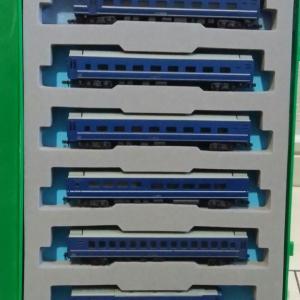 TOMIX・24系ブルートレイン(初期製品)のLED換装(1)