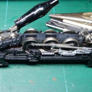 関水金属・C62の修理