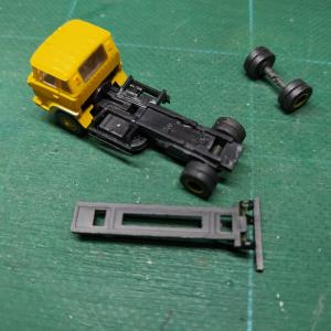 脱着コンテナ車の製作(3)