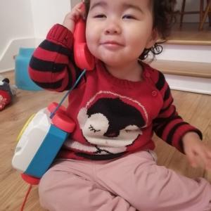 おハゲ1歳10ヶ月の記録