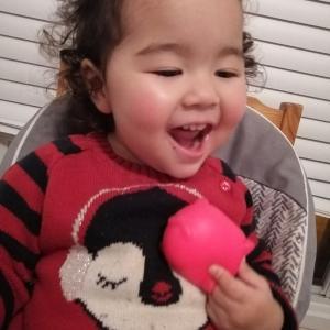 おハゲ1歳11ヶ月の記録