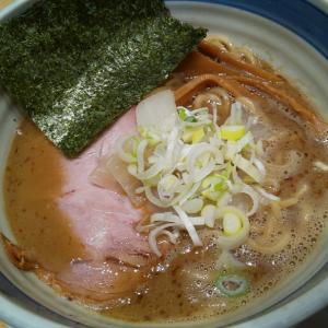 【竈の番人】魚介煮干しそば(千葉)