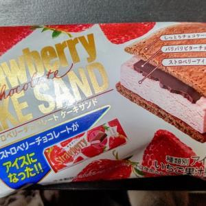 【明治】ストロベリーチョコレートケーキサンド